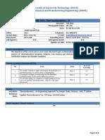 ME-231 Teaching Plan (F-14)