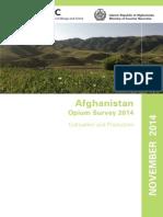 Afghan Opium Survey 2014