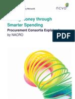 Saving Money Through Smarter Spending - Procurement Consortia Explained
