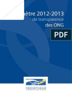 Barometre ONG 2012-2013