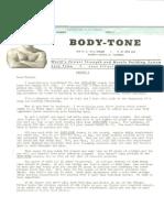 body tone lesson 1