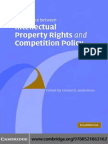 Intellectual Property Rights Competition