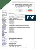 Ejercicios Matemáticos c... Razonamiento Numérico.