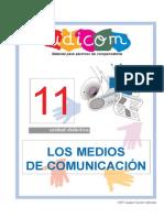 Unidad Didáctica 11. Los Medios de Comunicación