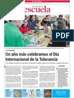Día Internacional de la Tolerancia.Educación en Valores.LVE.12.11.2014