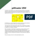 Amplificador 25W