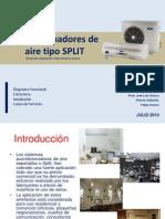 Acondicionadores Split_julio 2014_material Trabajo PDF