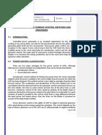 Wind Turbine Control Methods & Strategies