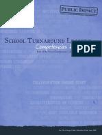 Turnaround Leader Competencies