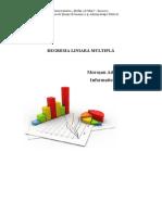 Proiect SPSS econometrie