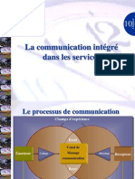 Sujet X-la Communication Integree Dans Les Services