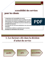 Sujet Viii-la Gestion d'Accessibilite Des Services Pour Les Consommateurs