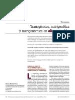 Transgénicos y Nutrigenómica
