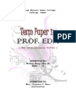 Term Paper(The Intellectually Gifted).docx