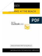 Outlook 2010 Advanced User Manual