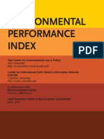 Env Perforamance Index 1