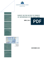 ECB - Survey on the access to finance of enterprises