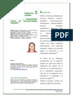 Instrumentos de Evaluación Cognitiva en Terapia Ocupacional (2011)
