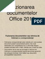 Fuziunea Documentelor Word 2013