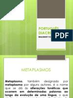 PORTUGUÊS DIACRÔNICO