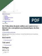 F. HOUSSIER De l'Éducation Du Juste Milieu Aux Controverses