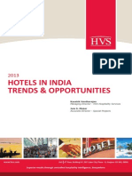 HVS - 2013 Hotels in India Trends Opportunities