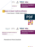 4- Audit de Certification