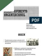DESENVOLVIMENTO DESENVOLVIMENTO ORGANIZACIONALORGANIZACIONAL