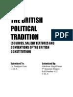 THE BRITISH POLITICAL TRADITION.doc