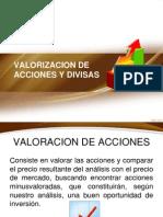 VALORIZACION ACCIONES