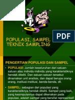 4. Populasi Dan Teknik Sampling