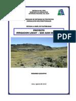 3- Factibilidad Irrigacion Liscay