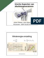 windturbine generatoren
