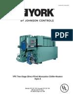 Manual-Técnico-Chiller-YORK®-Absorção-YPC-Queima-Direta