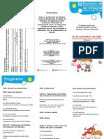 Folheto Programa e Ficha Inscricao III Encontro