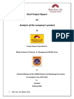 Project Report on Birla sunlife Mutual Fund