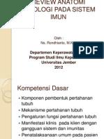 Review Anatomi Fisiologi Pada Sistem Imun