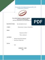 Monografia Abastecimiento de Agua y Alcantarillado