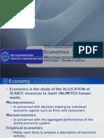 Basics of Economics for Sport Students
