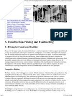 Project Management for Construction_ Construction Pricing and Contracting