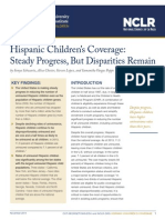 Hispanic Children's Coverage