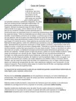 Casa de Campo (Definicion)