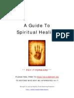 A Guide to Spiritual Healing