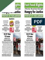FFRs Parliament Protest 21 Nov 2014