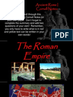 ancient rome i cornell notes