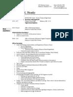 resume educ options  admin 1