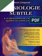 Roberto Zamperini - Physiologie Subtile