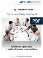 SPMG Pricing - Talleres in-house QSR - Latam