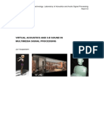 Virtual Acoustics and 3D Sound in Multimedia Signal Processing