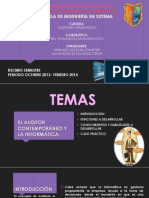 EL AUDITOR CONTEMPORÁNEO Y LA INFORMÁTICA